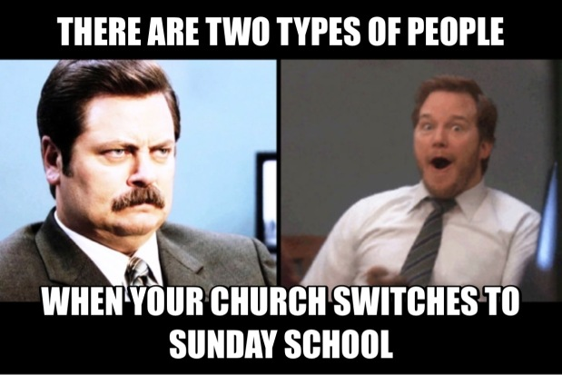 Reflection on: Why We Are Going From Small Groups to Sunday School by JimDavis