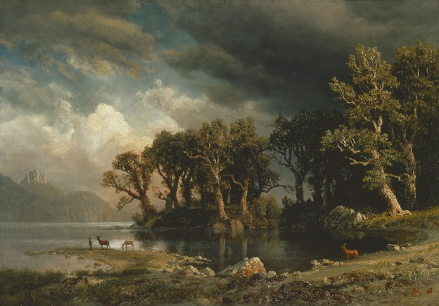 Albert Bierstadt - The Coming Storm, 1869