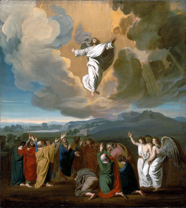 John Singleton Copley - The Ascension, 1775