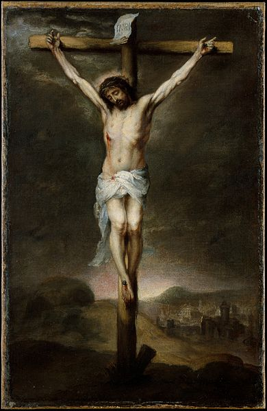 Bartolome Esteban Murillo - The Crucifixion, 1675